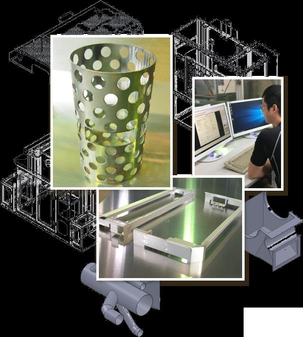 タケナカ3次元ソリッド板金 CAD